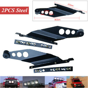 General Off-road Vehicle Roof LED Light Strip Bracket Upper Bar Mounting Bracket