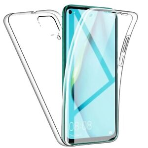 SAMSUNG A12 Ultra Slim Shockproof 360 Cover Front and Back Case CLEAR DotFree