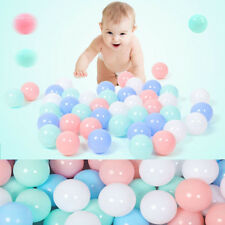 100Pcs/lot Plastic Ball Soft Ocean The Pool Balls Baby Swimming Pit Toy