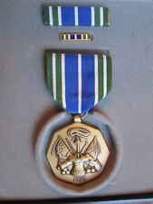 US Military Achievement Medal Ribbon Set In Presentation Box
