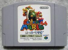 FREE SHIP USED Super Mario 64 Rumble version Bros N64 japan