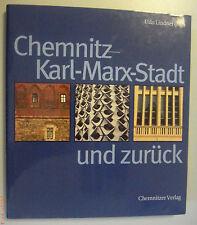 Chemnitz -Karl-Marx-Stadt und zurück Udo Lindner*Bildband ~ org. Schutzumschlag