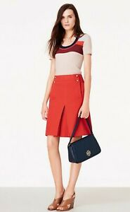 NWT TORY BURCH Thea Skirt Size 6