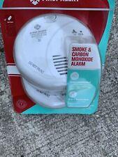 First Alert Alarm SMOKE AND CARBON MONOXIDE ALARM 2 PACK Bin#2