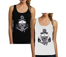 Spiral Direct LORD HAVE MERCY Tattoo Back Mesh Sublimated Vest//Guns Roses//Top