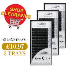 Lashview 0.15 0.20 C D Mink Classic Eyelash Extensions 3-BOX Set Shop Clearance