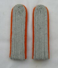 German WW2 Army Leutenant-Captain ranks. Orange underlay
