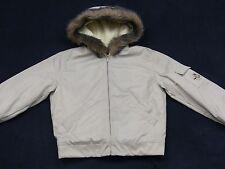 donna ICEBERG HISTORY Giacca Invernale Cappuccio di pelliccia beige WALT DISNEY