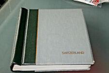 SWITZERLAND 1843-1965 - LIGHTHOUSE HINGELESS ALBUM (ALL LEAVES) + M&U COLLN