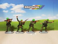 Britains Super Deetail Modern British Royal Marine Commandos set of 4 (lot 3066)