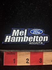 Mel Hambleton Ford Wichita Kansas Car / Auto Patch (cut from front of hat) S77C