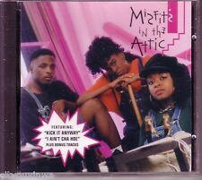 MISFITS IN THE ATTIC Kick it Anyway 1993 CD Philly Old School Hip Hop Suga-Free