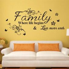 Family Wall Sticker Home Living Room Decoration Bedroom Decor Wall Decal