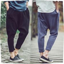 New Summer Stylish Men's Harem Pants Korean Style Jogging Harlan Casual Pants