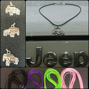 Jeep charm choker necklace