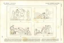 1882 John Flaxman Homer's Iliad Thetis Talthybios Eurynome