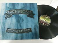 "Bon Jovi New Jersey 1988 Spanish first Press Vertigo - LP Vinilo 12"" vg/vg"