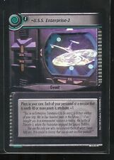Star Trek CCG What You Leave Behind RARE 14R43 U.S.S. Enterprise-J