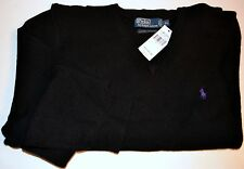 Polo Ralph Lauren Men's Sweaters Classic Fit 100% Wool Black White Navy