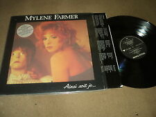 "@ MYLENE FARMER 33 TOURS LP 12"" FRANCE AISNI SOIT-JE (STICKER 1)"