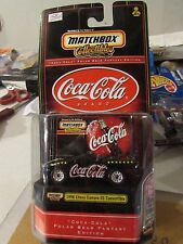 Matchbox Collectibles Coca-Cola 1998 Chevy Camaro SS Convertible Black