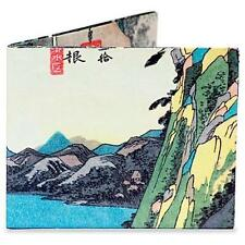 DINOMIGHTY MIGHTY WALLET HIROSHIGE LAKE AT HAKONE JAPANESE DURABLE TYVEK DY-535