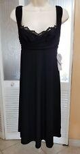 NINE WEST LADIES SEXY BLACK DRESS - SIZE 2