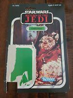 Star Wars Return Of The Jedi Chief Chirpa Cardback 80s ROTJ