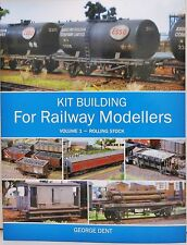 The Crowood Press - Kit Building for Railway Modellers Volume 1 - (Book)