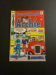 EVERYTHING'S ARCHIE #23 1972 ARCHIE COMICS BRONZE AGE GIANT COMIC BOOK