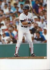 8 1/2 x 11 Gloss Photo Wade Boggs Boston Red Sox {173}