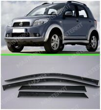 Sun Visors For Daihatsu Terios Windows Rain Deflectors Weather shields 2006-17