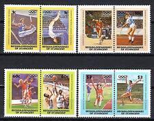 JO été Bequia St Vincent (39) série complète de 8 timbres neufs**