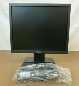 "Acer V176L bd 17"" 5:4 Screen LED LCD TN Monitor NEW ✅❤️️✅❤️️"