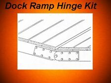 Stationary Pipe Boat Dock Hardware Ramp Hinge Kit 480