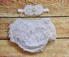 Conjuntos de ropa blancos recién nacido para niñas de 0 a 24 meses