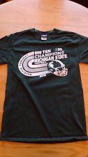 Michigan State University Spartans 2013 Big Ten Champs T-shirt Size S Green