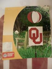 University of Oklahoma Sooners Staked Wind Spinner, ~3' tall, Ou, Team Sports