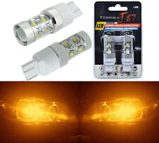 LED Light 50W 7440 Amber Orange Two Bulbs Rear Turn Signal Replacement Lamp