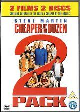 Cheaper By the Dozen & Cheaper By the Dozen 2 - DVD - Steve Martin, Hilary Duff
