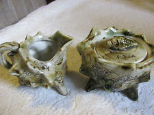 Florida Sea Shell Sugar and Creamer Set