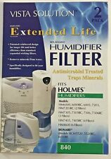 Vista Solution Extended Life Humidifier Filters,Holmes, Bionaire 840- NEW 2/Pk