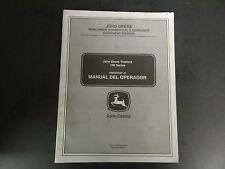 John Deere 100 Series Tractors Manual Del Operador Omgx22487 J6