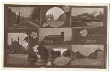 LONGRIDGE Lancs, Greetings from Old Multiview Postcard Postally Used