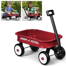 Radio Flyer Little Red Outdoor Toy Wagon Kids Mini Small Version Wheel Home New