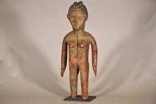 """Unusual Bassa Female Statue 26"""" - Liberia - African Art"""