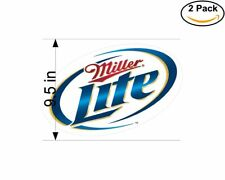 Miller Lite 1 2 Stickers 9.5 Inch Sticker Decal