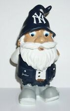 """2011 Yankees Mlb Baseball resin Forever Collectibles 8"""" Gnome Figurine exc cond"""
