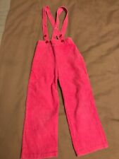 Diletto Vintage Vtg Pink Corduroy Overalls 18 Months 2t