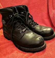 Harley-Davidson Leather Lace-up Performance Motorcycle Boots 94173 - 10 M